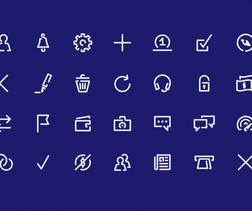 Icons design – qapital