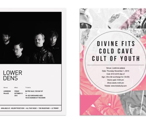 Lower Dens Divine Fits poster
