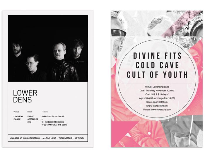 Lower Dens DivineFits // poster