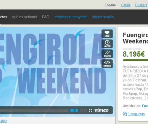 Fuengirola Pop Weekend 2013