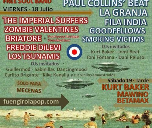 fuengirola pop weekend 2014