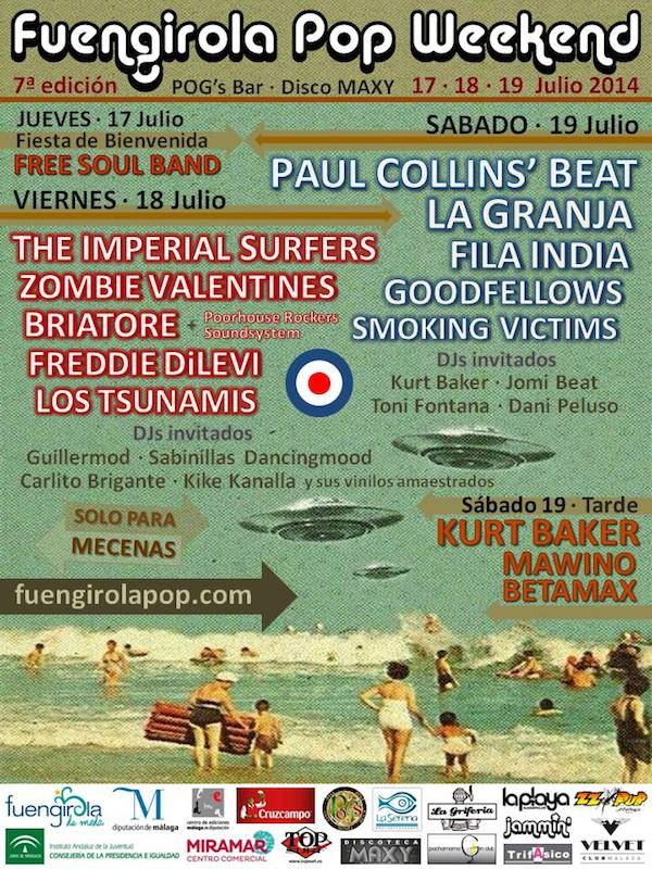 Fuengirola Pop Weekend 2015