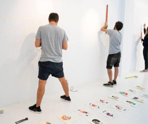 Exposición de Phil Hackett y Phil Morgan