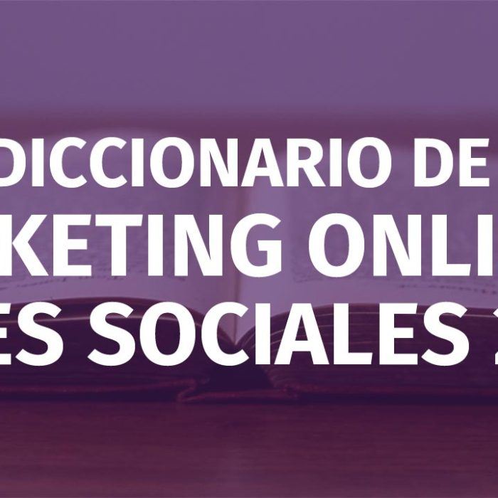 Diccionario de Marketing Online 2018