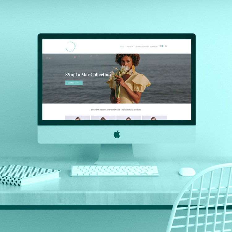 Diseño de tienda online para La Mar Collection